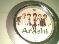 Arashi-clock
